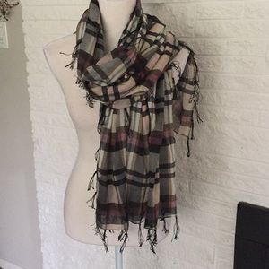 Roxy Plaid scarf